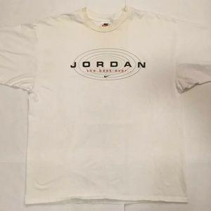 "VTG 90s Nike AIR JORDAN ""Best Ever"" T-Shirt Sz XL"